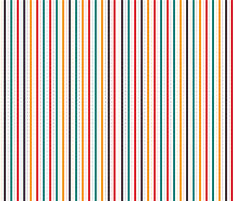 crazy circus stripes fabric by made_in_shina on Spoonflower - custom fabric