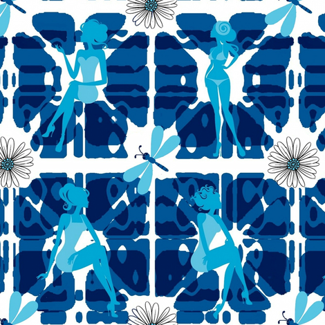 girl power fabric by paragonstudios on Spoonflower - custom fabric