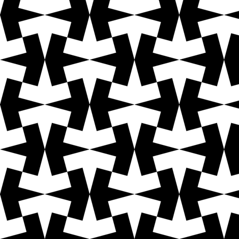 arrow 4g X fabric by sef on Spoonflower - custom fabric