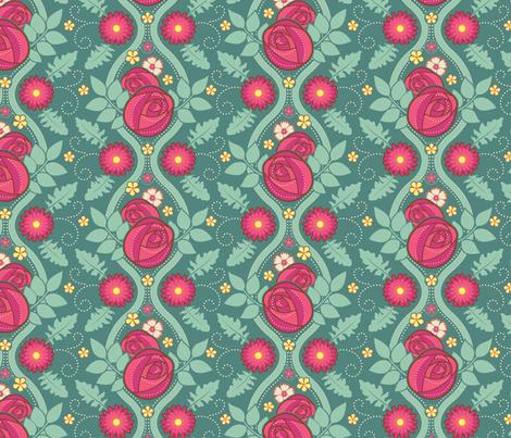 June Birthday - Geometric Coordinate fabric by jennartdesigns on Spoonflower - custom fabric