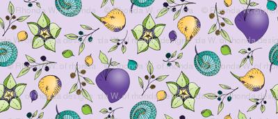 Strange Fantasy Fruit, on Lilac.