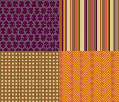 Menswear Coordinate fabric by mongiesama on Spoonflower - custom fabric