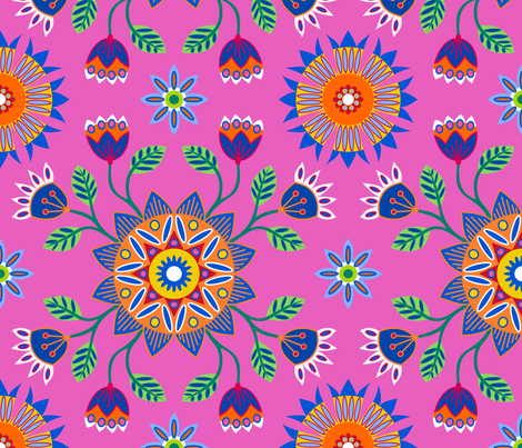 Portuguese Garden fabric by yellowstudio on Spoonflower - custom fabric