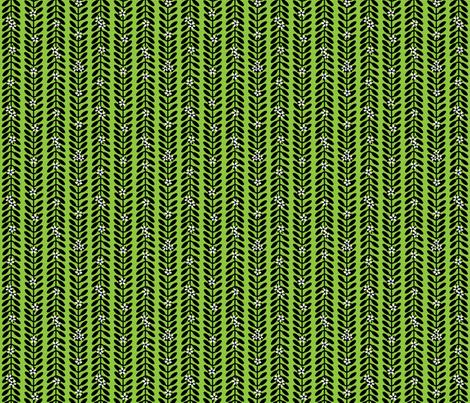 MioporumGREEN fabric by yellowstudio on Spoonflower - custom fabric