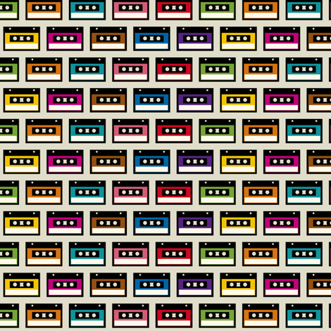 Little tapes fabric by wantit on Spoonflower - custom fabric