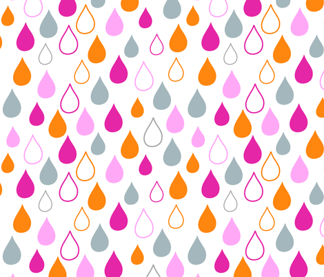 bright side - Sweet Drops fabric by fable_design on Spoonflower - custom fabric