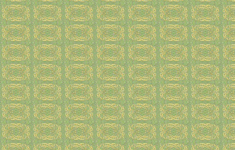 Green Celtic Knot Greyhounds ©2011 by Jane Walker fabric by artbyjanewalker on Spoonflower - custom fabric
