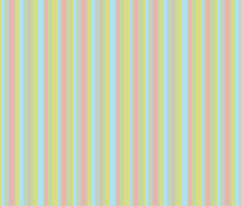 Tropical Stripes fabric by mbsterling on Spoonflower - custom fabric