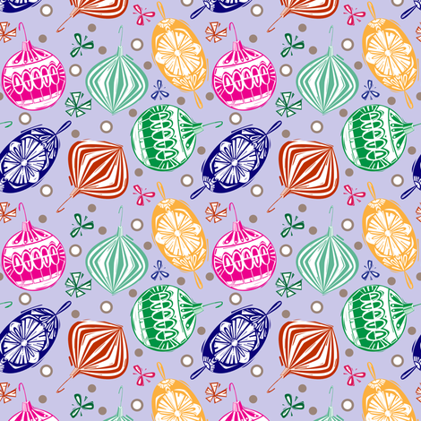 ornaments fabric by gsonge on Spoonflower - custom fabric