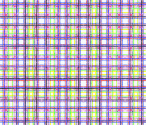 Crayon Plaid fabric by brandymiller on Spoonflower - custom fabric