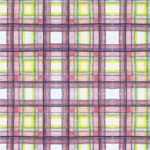 Crayon Plaid