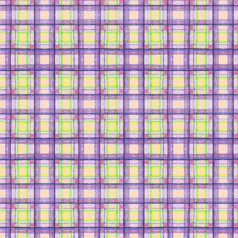 Crayon Plaid2 fabric by brandymiller on Spoonflower - custom fabric