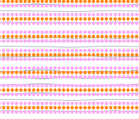 bright side dots n' stripes fabric by fable_design on Spoonflower - custom fabric