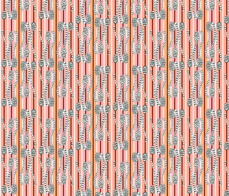 Kitty Tails fabric by eclectic_house on Spoonflower - custom fabric