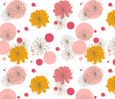 bright side - Spring garden fabric by fable_design on Spoonflower - custom fabric
