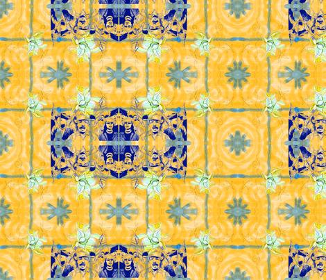 Civil Rights Yes!! Yellow fabric by kkitwana on Spoonflower - custom fabric