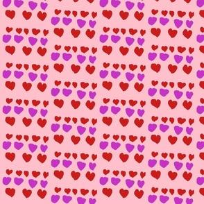 Valentine`s day hearts