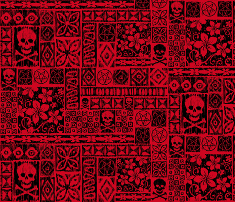 Lusurfer fabric by pkfridley on Spoonflower - custom fabric