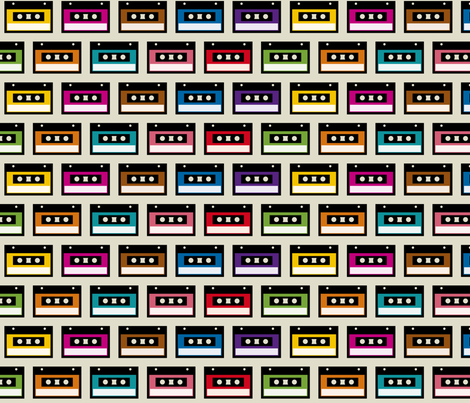 Tapes fabric by wantit on Spoonflower - custom fabric