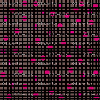 Locked Up Spots: pink