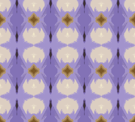 Violet Tendencies fabric by susaninparis on Spoonflower - custom fabric