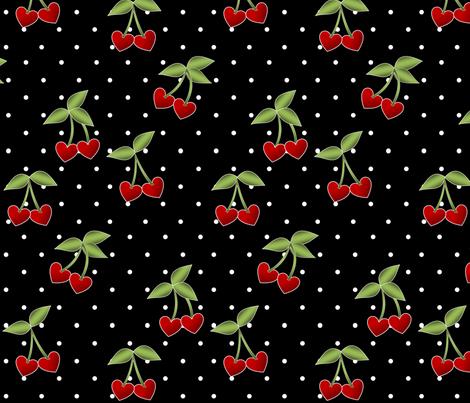 Cupid's Sweets I fabric by lowa84 on Spoonflower - custom fabric