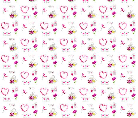 Honeymoon fabric by dailycandy on Spoonflower - custom fabric