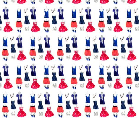 Tribeca Girl fabric by dailycandy on Spoonflower - custom fabric