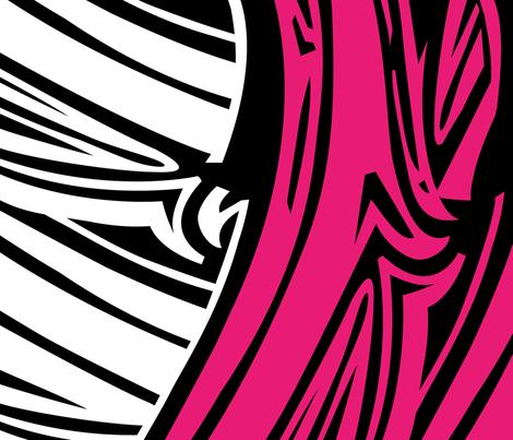 Zebra Bark fabric by longfellow on Spoonflower - custom fabric
