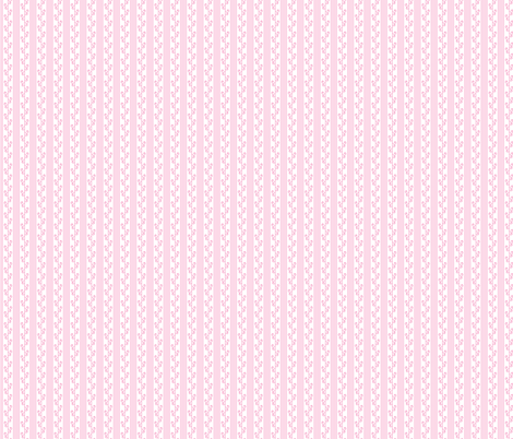Joy in White and Pink fabric by claudiaowen on Spoonflower - custom fabric