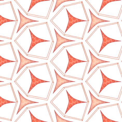 geometric fabric by glimmericks on Spoonflower - custom fabric