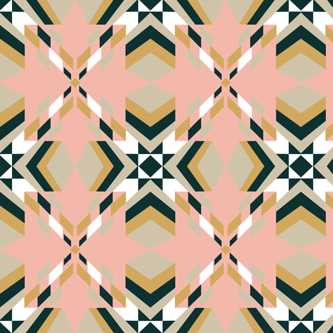 Tangram Quilt fabric by gimlet on Spoonflower - custom fabric