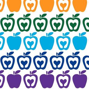 Retro apple