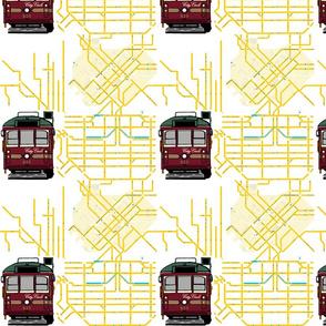 Tram Map