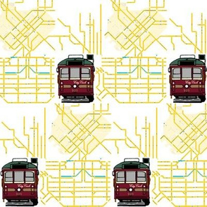 Tram Map Small