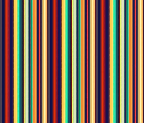 Dallas Lights - Hot Stripes fabric by engravogirl on Spoonflower - custom fabric