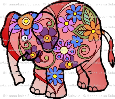 pink_flowered_elephant