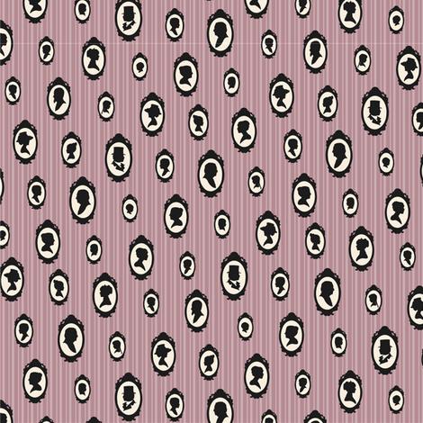 Rose Heirloom - small fabric by pyralisdesign on Spoonflower - custom fabric