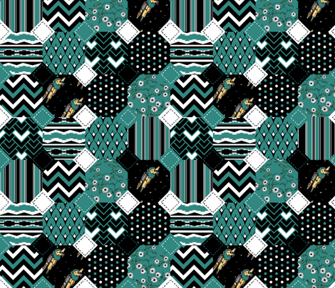 Coordinate Quilt fabric by pond_ripple on Spoonflower - custom fabric