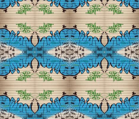 Galata Graffiti  medium fabric by miss_blümchen on Spoonflower - custom fabric
