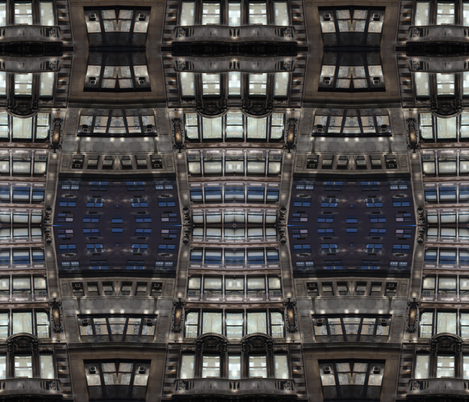 New York City Architecture fabric by mikep on Spoonflower - custom fabric