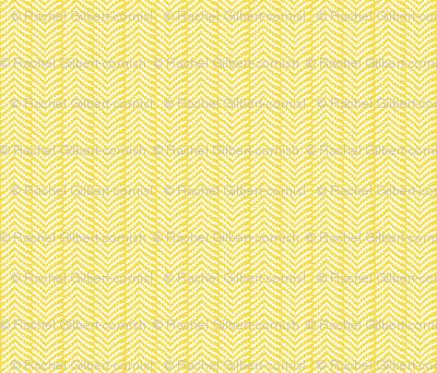 ornate owls ziggy zaggy coordinate (yellow)