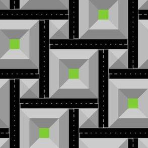 2:1 squares - city