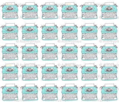 """typewriters at play: 3"""""""