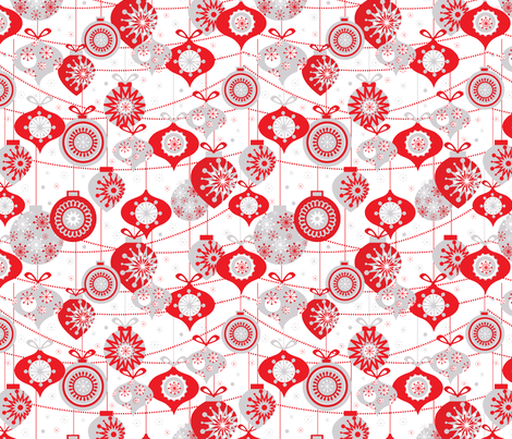 Ornaments fabric by mandakay on Spoonflower - custom fabric
