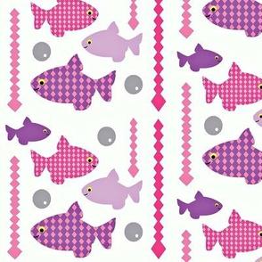 fish-bowl pink n purple