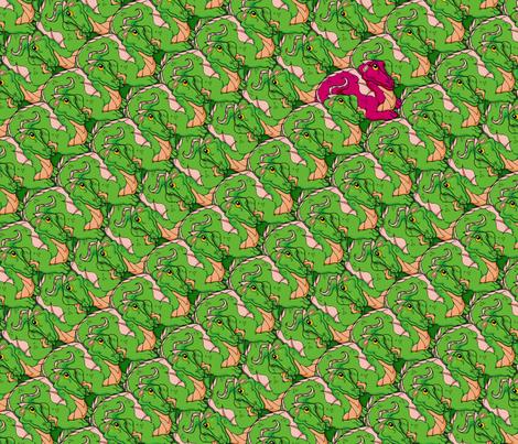 oddball dragon fabric by hannafate on Spoonflower - custom fabric