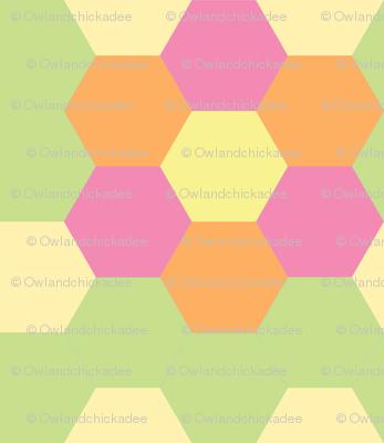 Spring Hexagonal - Light