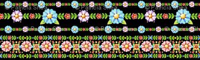 Millefiori Floral Stripe