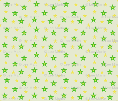 Green and Yellow Stars (small)